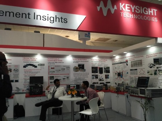 Keysight at Convergence India 2018