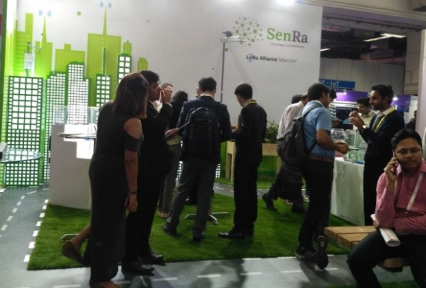 SenRa at at Convergence India 2018