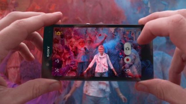 Sony phone campaign