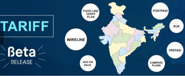TRAI website on tariffs