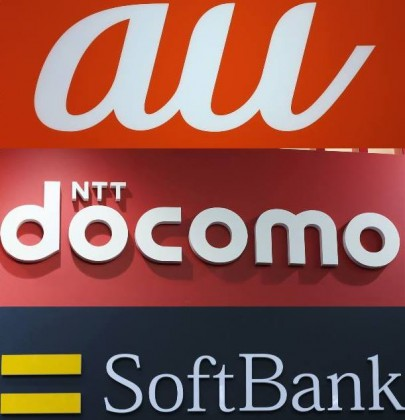 KDDI, NTT DOCOMO and SoftBank