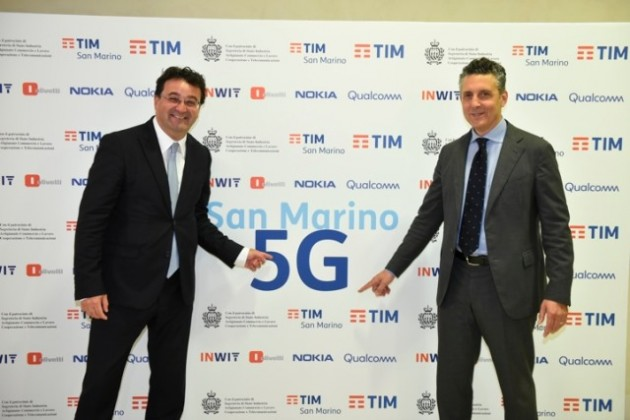 TIM 5G launched