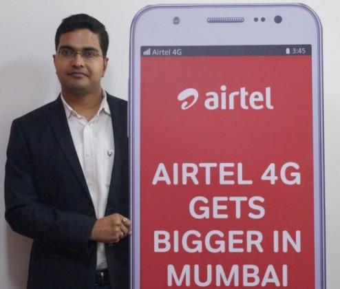 Airtel Mumbai CEO Amit Tripathi