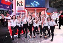 KT 5G network Korea