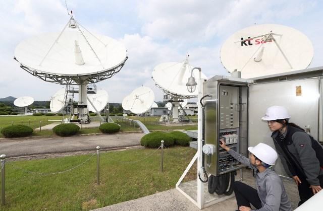 KT satellite business