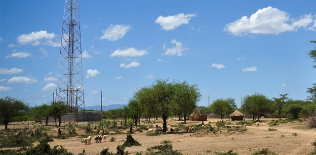 Telecom towers in rural locations