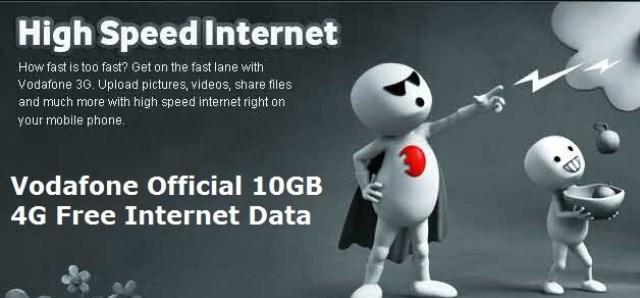 Vodafone mobile Internet in India