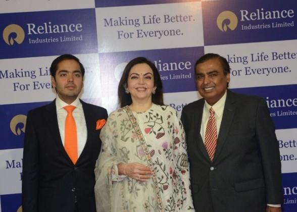 Mukesh Ambani at RIL AGM
