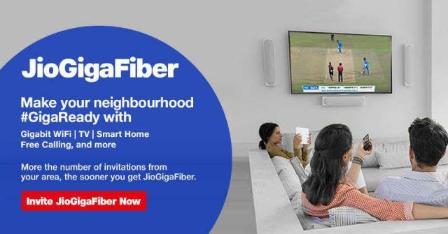 Jio Giga Fiber India
