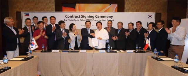 KT wins project in Philippines