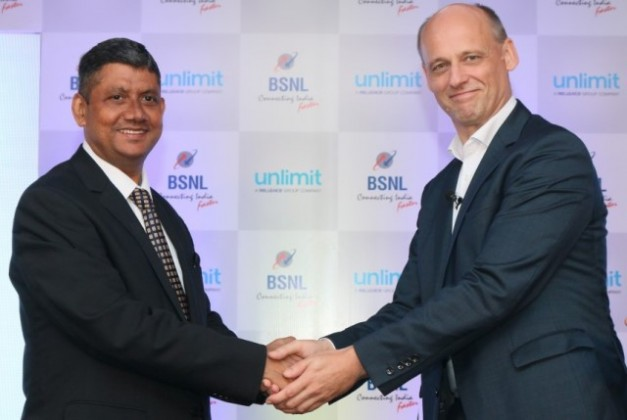 BSNL and Unlimit in IoT deal