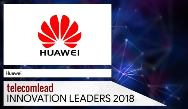 Huawei TelecomLead Innovation Leaders 2018 Award