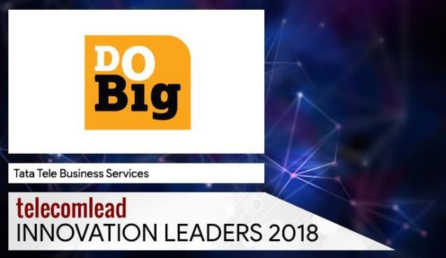 Tata Tele Business Services TelecomLead Innovation Leaders 2018 Award