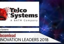 Telco Systems TelecomLead Innovation Leaders 2018 Award