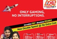 ACT Fibernet data plan