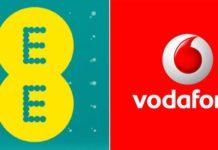 Vodafone and EE UK