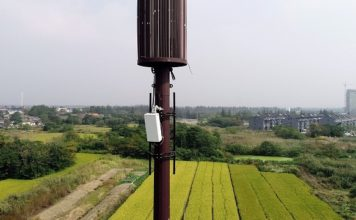 Huawei 5G base station in China