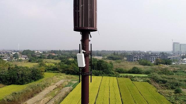 Huawei 5G base station in China