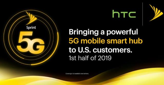 Sprint 5G with HTC and Qualcomm