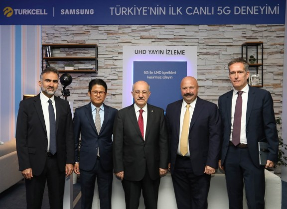 Turkcell 5G with Samsung