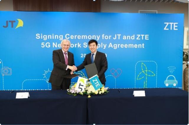 ZTE inks 5G network deal with JT Global
