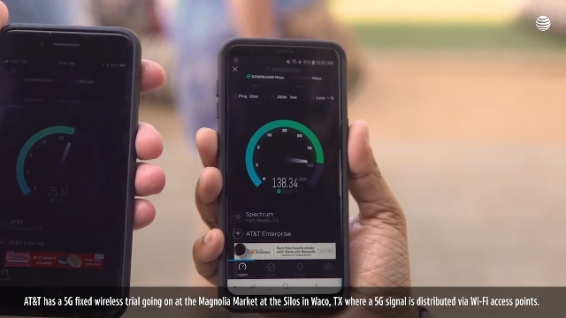 AT&T 5G signal coverage