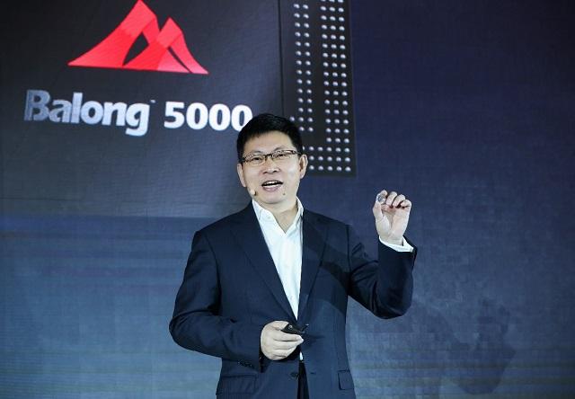 Huawei Balong 5000 launch