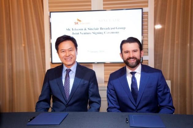 SK Telecom and Sinclair Broadcast