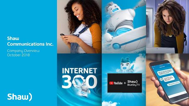 Shaw Communications investment