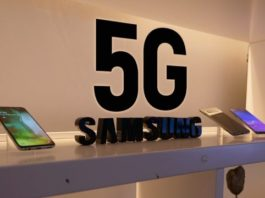 5G smartphone from Samsung