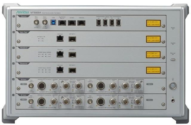 Anritsu MT8000A 5G tester for MediaTek