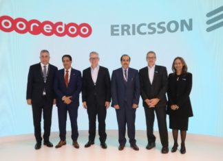Ericsson 5G deal with Ooredoo