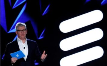 Ericsson CEO Borje Ekholm at MWC 2018