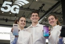 Galaxy S10 5G at MWC 2019