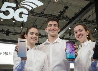 Galaxy S10 5G at MWC 2019