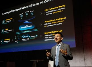 Huawei Jeffrey Gao at MWC 2019