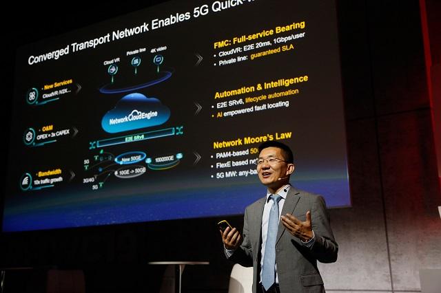 Huawei Jeffrey Gao at MWC 2019