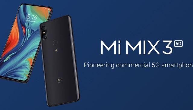 MiMix 3 5G smartphone MWC 2019