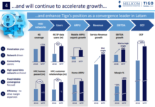 Millicom growth in Latin America