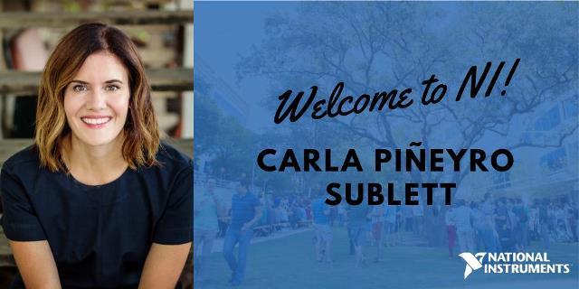 National Instruments CMO Carla Pineyro Sublett