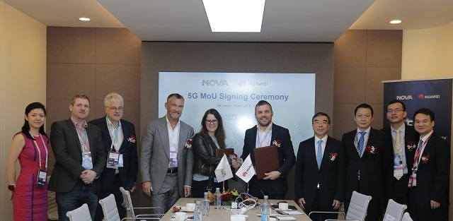Nova Iceland with Huawei at MWC 2019
