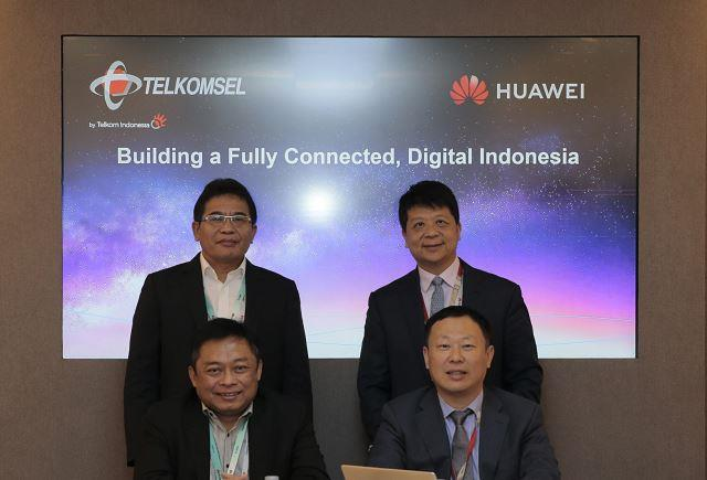 Telkomsel and Huawei MWC 2019