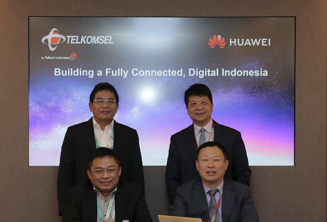 Telkomsel and Huawei MWC 2019