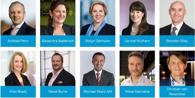 Telstra leadership team 2019