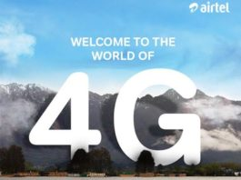 Airtel 4G quality network