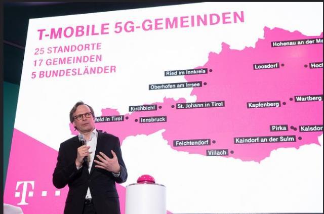 T-Mobile 5G in Austria