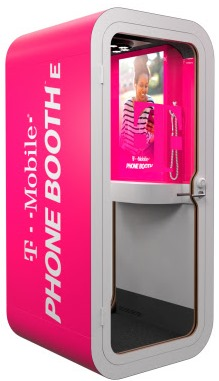 T-Mobile Phone Booth E