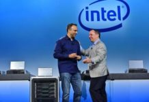 Intel CEO at Agilex FPGA launch