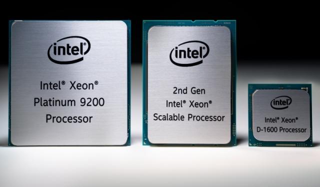 Intel new Xeon processors