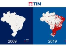 TIM Brasil 4G network